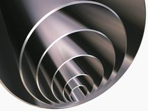 Pipe_inside_pipe royalty free stock photos