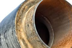 Pipe in insulation. Stock Photo