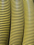 Pipe jaune usée Photos stock