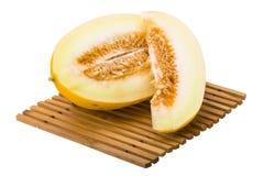 Pipe juicy melon Royalty Free Stock Photo