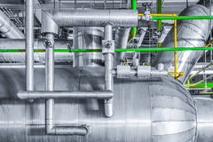 Pipe line  in the Powerhouse Royalty Free Stock Photos