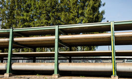 Pipe line Stock Image