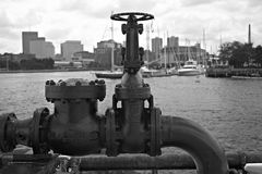Pipe Line Valve Royalty Free Stock Images