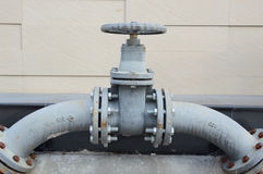 Pipe line valve Royalty Free Stock Photo