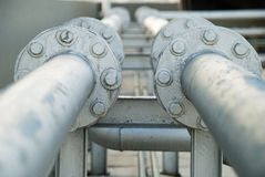 Pipe lines Stock Images