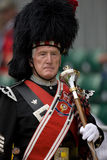 Pipe Major at the Highland Games in Scotland Stock Photos