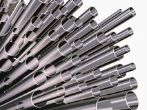 Pipe_many Stock Photos