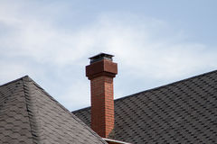 Free Pipe On The Roof Stock Image - 41572351