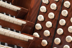 Pipe Organ Stock Image
