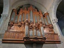 Pipe Organ Stock Image
