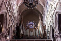 Pipe Organ. Church cathedral music Stock Photography