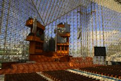 Pipe organ at the Crystal Cathedral Stock Photos