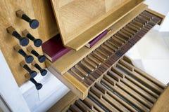 Pipe organ Royalty Free Stock Images