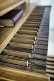 Pipe organ Stock Photo