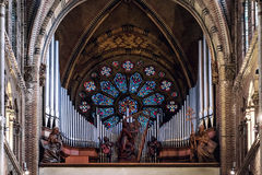 Pipe organ Stock Photography
