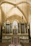Pipe Organ Of Saint Michael Cathedral Royalty Free Stock Photo