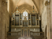 Pipe Organ Of Saint Michael Cathedral Stock Photo