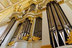 Pipe organ Royalty Free Stock Photo