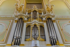 Pipe organ Royalty Free Stock Images