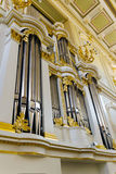 Pipe organ Royalty Free Stock Photography
