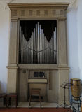 Pipe Organ wind instrument Royalty Free Stock Images