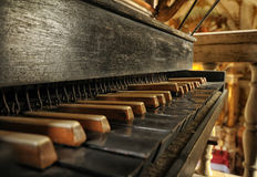 Pipe organs Royalty Free Stock Images