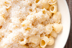Pipe pasta alfredo Royalty Free Stock Images