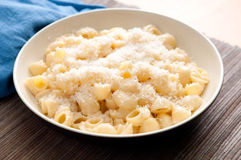 Pipe pasta alfredo Royalty Free Stock Photos