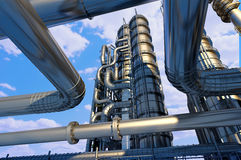 The pipe plant Royalty Free Stock Image