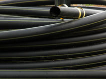 Pipe from plastic Stock Photo