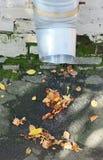 Pipe for rainwater drainage Stock Photo
