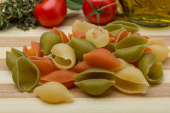 Pipe rigate pasta Stock Images