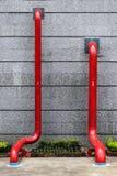 Pipe rouge Image libre de droits