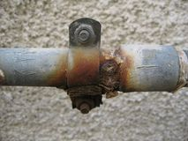 Pipe rust Royalty Free Stock Photo