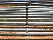 Pipe and Rust texture Royalty Free Stock Photography
