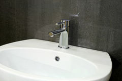 Pipe and sink Royalty Free Stock Photography