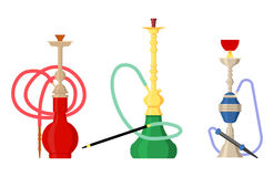 Pipe smoke or hookah for turkish tobacco Stock Images