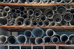 Pipe storehouse Royalty Free Stock Photography