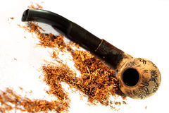 Pipe, tabac Photographie stock