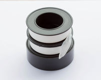 pipe thread seal tape Stock Photography
