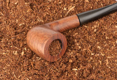 Pipe with tobacco Stock Image