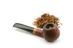 Pipe with tobacco Stock Images