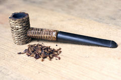 Pipe tobacco from corn Royalty Free Stock Image
