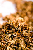 Pipe Tobacco Detail Royalty Free Stock Images
