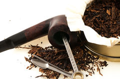 Pipe with tobacco Royalty Free Stock Image