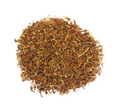 Pipe Tobacco Overhead View Royalty Free Stock Photos