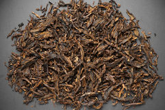 Pipe tobacco pile Stock Photo