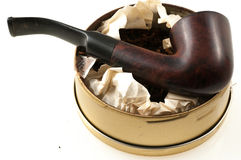 Pipe with tobacco Royalty Free Stock Photo
