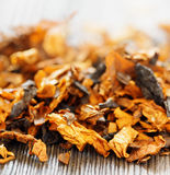 Pipe tobacco. Shallow depth of field Stock Image