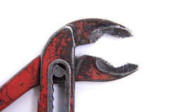 Pipe tongs, close-up Stock Image